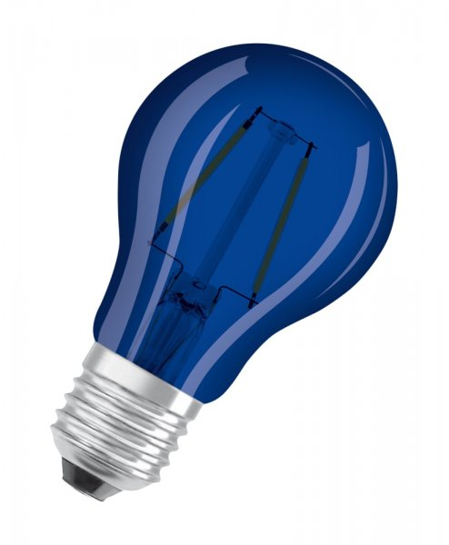 OSRAM LED STAR CLASSIC A DECOR Blau Outdoor E27