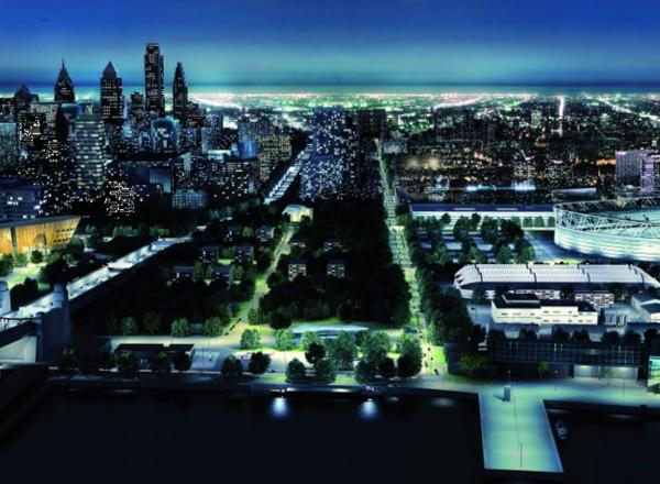 Moderne-Stadtbeleuchtung-mit-LED