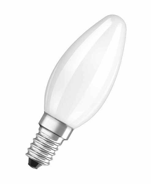 OSRAM LED RETROFIT CLASSIC B 40 Filament matt Warm White E14