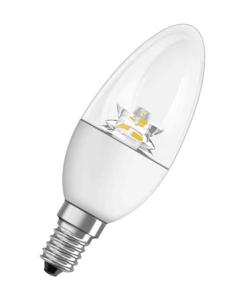 OSRAM LED STAR CLASSIC B 25 klar Warm White