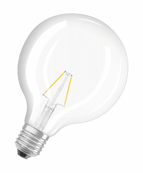 OSRAM LED RETROFIT CLASSIC GLOBE 125 25 Filament klar Warm White E27