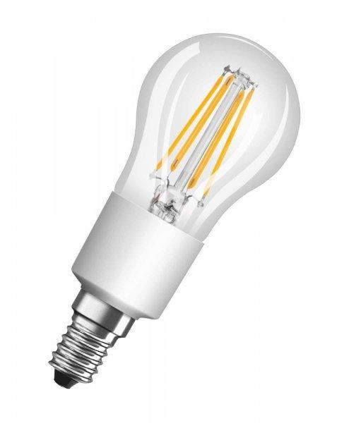 OSRAM LED RETROFIT CLASSIC P 40 Dimmable Filament klar Warm White E14