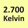 2.700 Kelvin