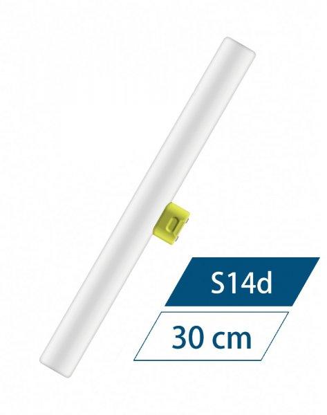 OSRAM LEDinestra 6W S14d matt Advanced Warm White