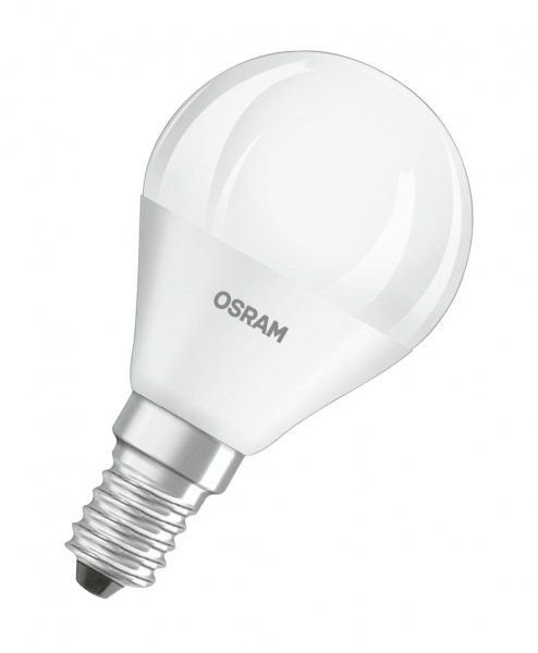 OSRAM LED STAR CLASSIC P 40 matt Cool White E14