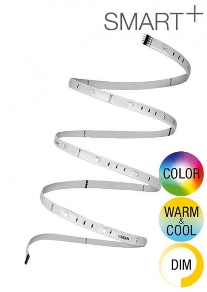OSRAM SMART+ FLEX 3P Multicolor Basis 12V LED-Streifen 1,80 Meter, verlängerbar