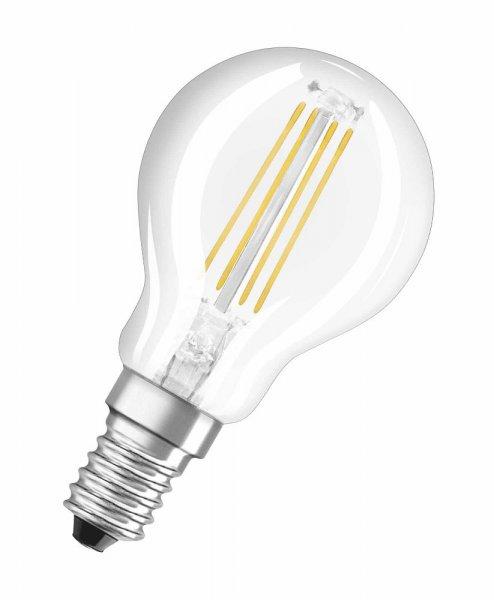 OSRAM LED RETROFIT CLASSIC P 15 Filament klar Warm White E14