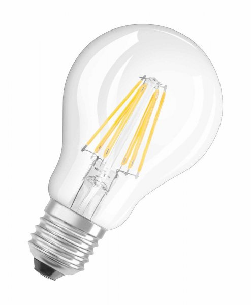 OSRAM LED SUPERSTAR CLASSIC A 60 Dimmable Filament klar Warm White E27