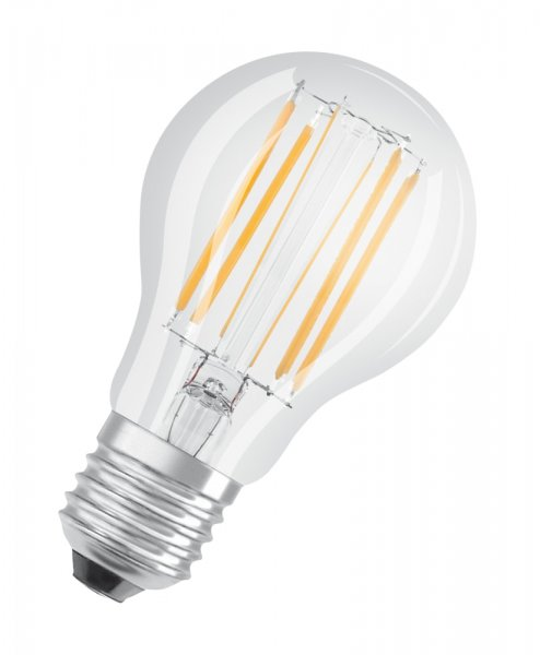 OSRAM LED SUPERSTAR CLASSIC A 75 Dimmable Filament klar Warm White E27