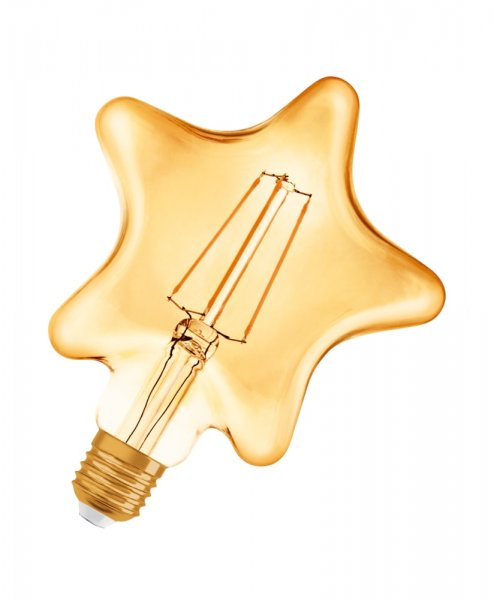 OSRAM VINTAGE 1906 LED STAR 40 Filament Gold Warm White E27