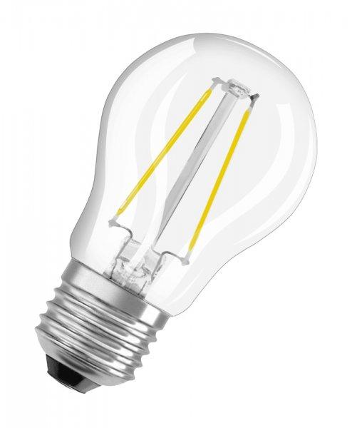 OSRAM LED RETROFIT CLASSIC P 25 Filament klar Warm White E27