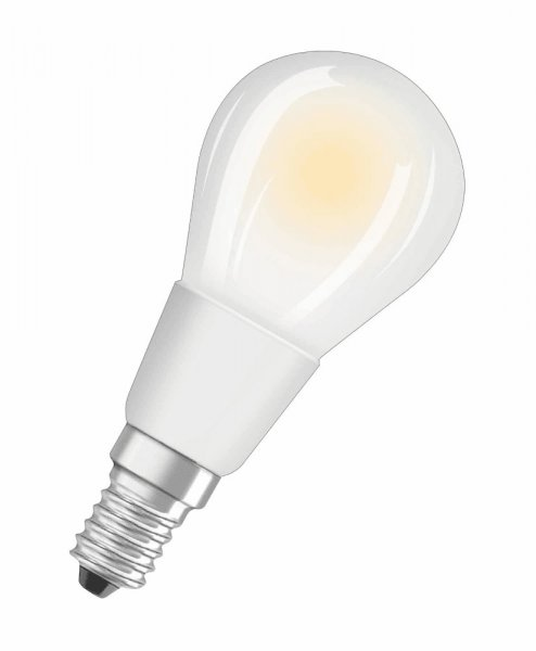 OSRAM LED RETROFIT CLASSIC P 40 Dimmable Filament matt Warm White E14