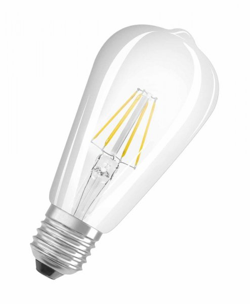 OSRAM LED STAR LEDISON 40 Filament klar Warm White E27 Edison