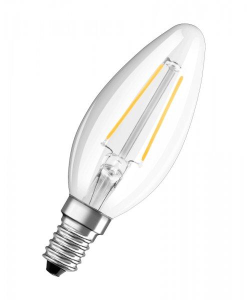OSRAM LED RETROFIT CLASSIC B 37 Filament klar Warm White E14