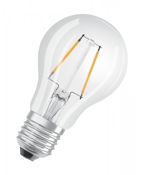 OSRAM LED STAR CLASSIC A 25 Filament klar Warm White E27