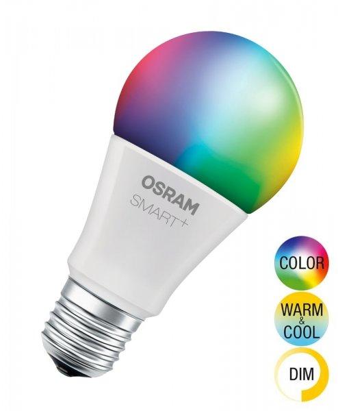 OSRAM SMART+ CLASSIC A 60 Multicolor Smart Home E27