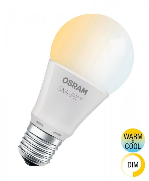 OSRAM SMART+ CLASSIC A 60 Tunable White Smart Home E27