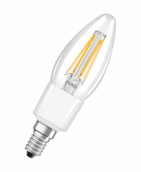 OSRAM LED RETROFIT CLASSIC B 40 Dimmable Filament klar Warm White E14
