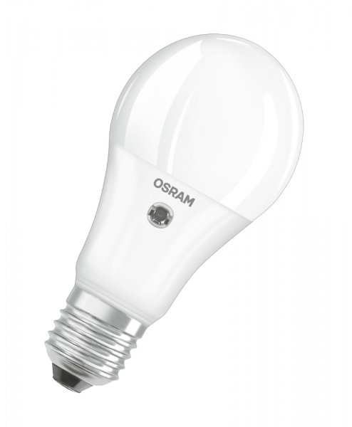OSRAM LED DAYLIGHT SENSOR CLASSIC A 60 matt Warm White E27