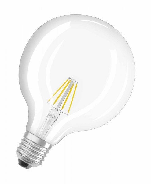 OSRAM LED RETROFIT CLASSIC GLOBE 125 60 Filament klar Warm White E27