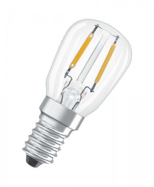 OSRAM LED STAR SPECIAL T26 Filament klar Warm White E14 Kühlschranklampe