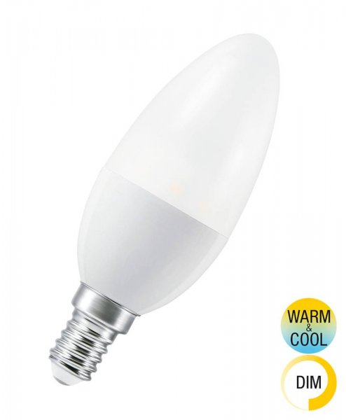 OSRAM SMART+ CLASSIC B 40 Tunable White Smart Home E14