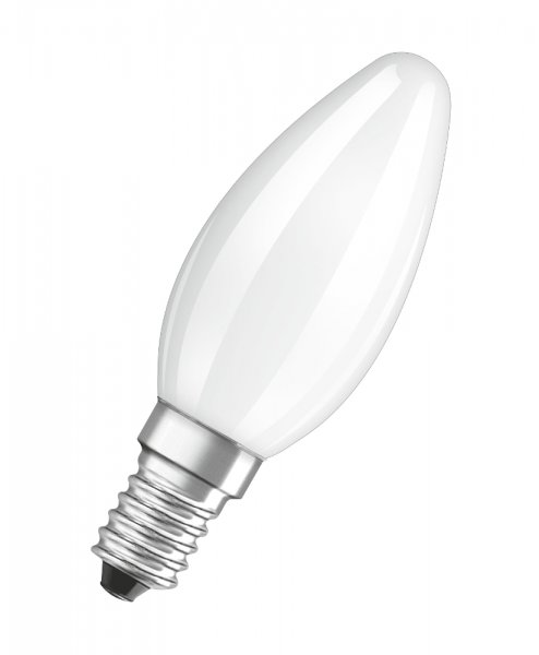 OSRAM LED STAR CLASSIC B 40 Filament matt Cool Daylight E14