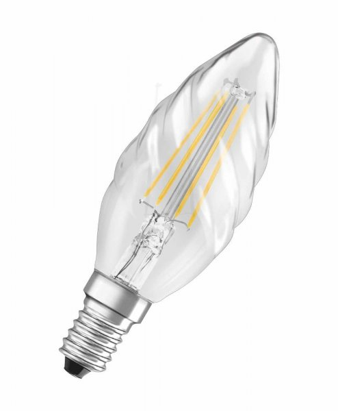 OSRAM LED RETROFIT CLASSIC BW 40 Filament klar Warm White E14