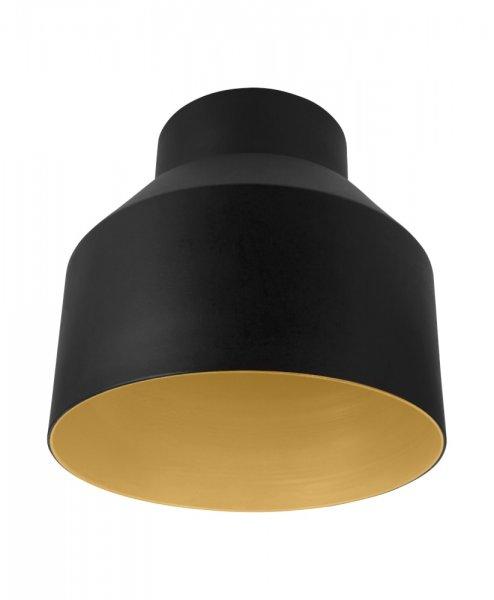 OSRAM VINTAGE 1906 PENDULUM CUP BLACK & GOLD 14 cm rund Lampenschirm