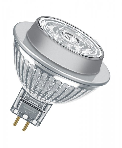 OSRAM LED SUPERSTAR MR16 50 (36°) Dimmable Glas Cool White GU5.3