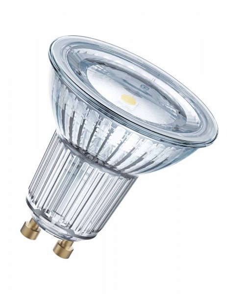 OSRAM LED STAR PAR16 50 (120°) GERMANY Glas Warm White GU10