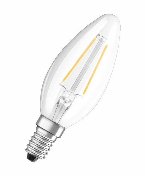 OSRAM LED RETROFIT CLASSIC B 15 Filament klar Warm White E14