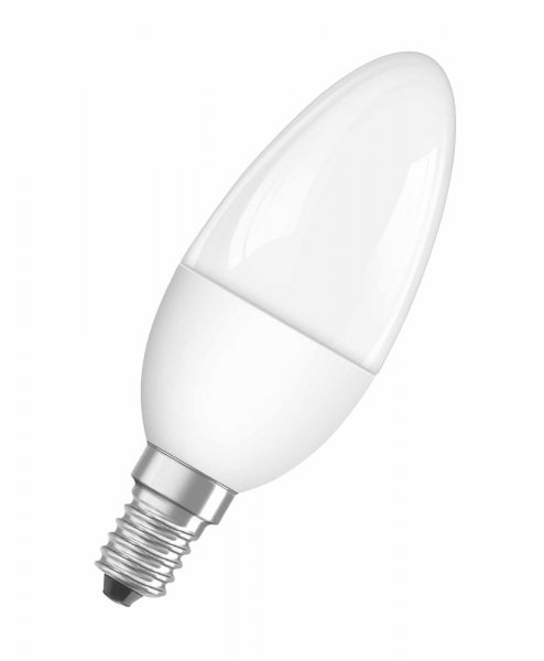 OSRAM LED STAR CLASSIC B 40 matt Cool White E14